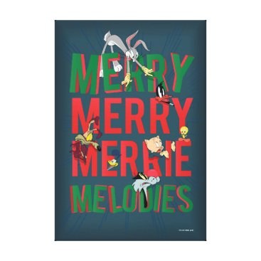 Merry Merry MERRIE MELODIES™ Canvas Print