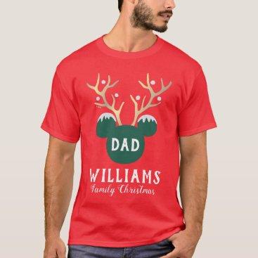 Mickey | Family Christmas - Dad T-Shirt