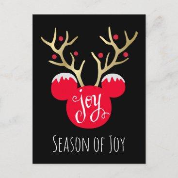 Mickey & Friends | Mickey Christmas Joy Holiday Postcard