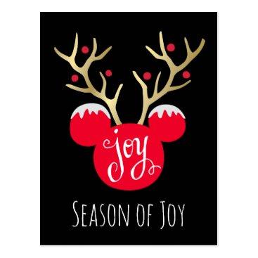 Mickey & Friends   Mickey Christmas Joy Postcard