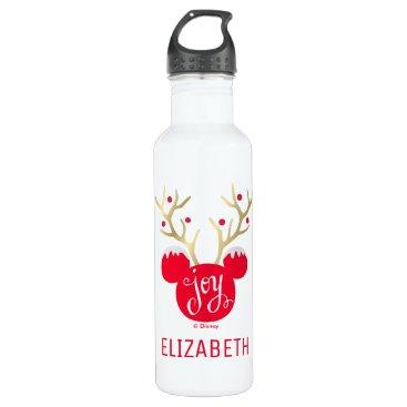 Mickey & Friends | Mickey Christmas Joy Stainless Steel Water Bottle
