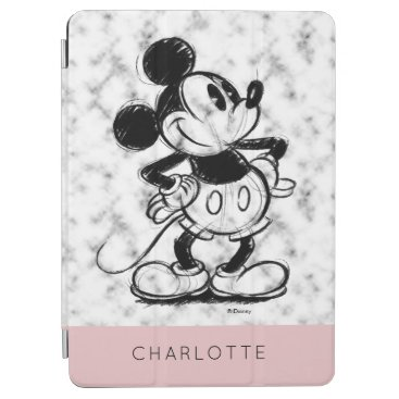 Mickey | Marble - Add Your Name iPad Air Cover