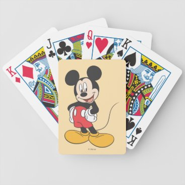 Mickey Mouse Bicycle Playing Cards