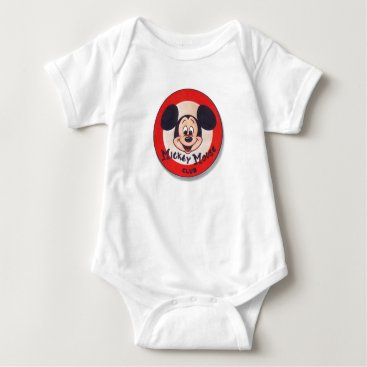 Mickey Mouse Club Baby Bodysuit