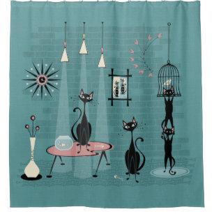 1950s shower curtains zazzle