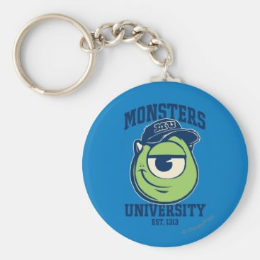Mike Monsters University Est. 1313 light Keychain