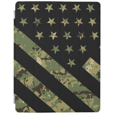 Military Digital Camouflage US Flag iPad Smart Cover