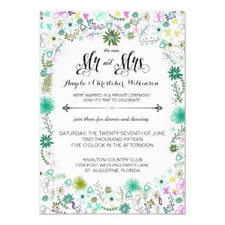 Wedding Invitations Reception Cards Response