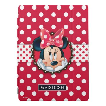 Minnie Mouse | Smiling on Polka Dots iPad Pro Cover