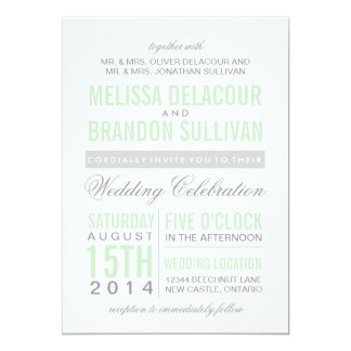 Mr Mrs Elegant Script Wedding Invitation