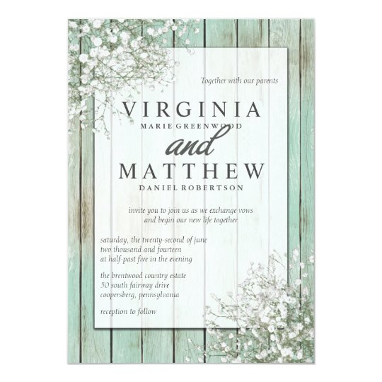 Vintage Wedding Invitations With A Modern Mint Green Twist Mospens Studio