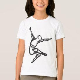 Modern Dance Ringer Tee (Girls)