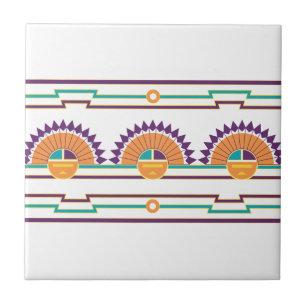 santa fe decorative ceramic tiles zazzle