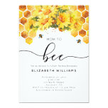 Modern Watercolor Mom To Bee Baby Shower Invitation