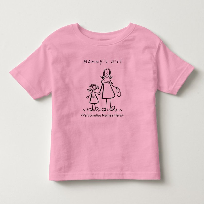 Mommy's Little Girl - Mother & Daughter T-Shirt
