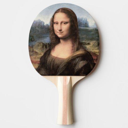 Mona Lisa Portrait / Painting Ping Pong Paddle