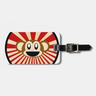 Monkey! Luggage Tag