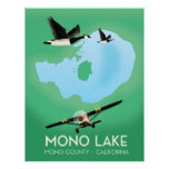 Mono Lake,Mono County, California travel poster