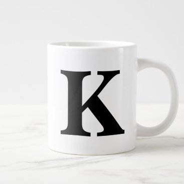 Monogram Giant Coffee Mug