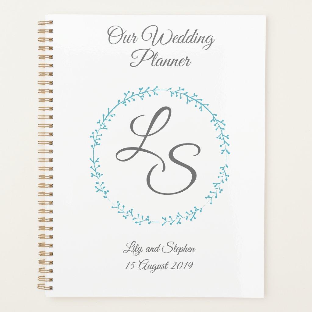 Monogram Wedding Planner