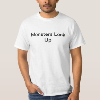 Monsters Look Up T-Shirt