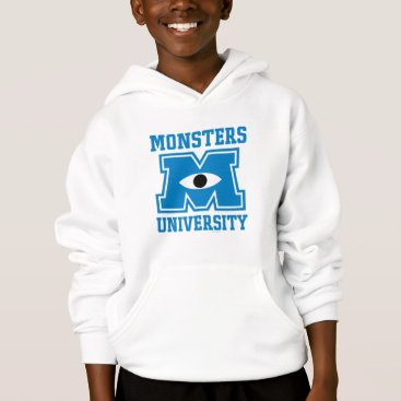 Monsters University Blue Logo Hoodie