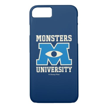 Monsters University Blue Logo iPhone 8/7 Case