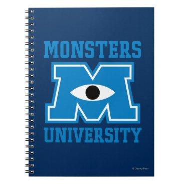Monsters University Blue Logo Notebook