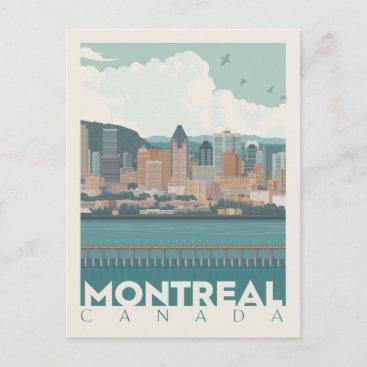 Montreal, Canada| Skyline Postcard