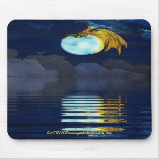 moon rider - mousepad