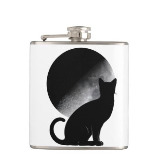 Mooncat flask