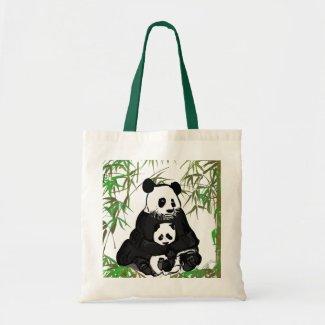 Mother and Baby Panda/Mamá y Bebé Panda bag