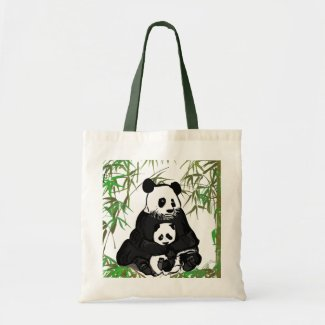 Mother and Baby Panda/Mamá y Bebé Panda bag