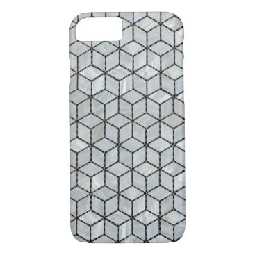 Mother of Pearls Cubic Tiles iPhone 8/7 Case