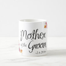 Mother of the Groom Ornate Coffee Mug