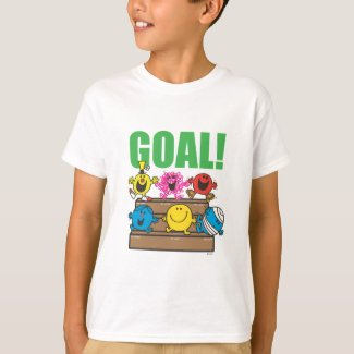 Mr. Men Soccer Fans | Goal T-Shirt