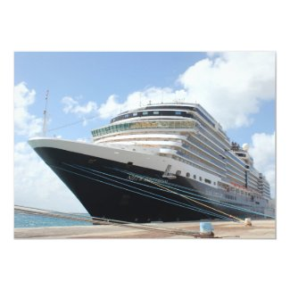 MS Nieuw Amsterdam Cruise Ship on Aruba Custom Announcement