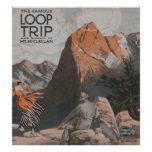 Mt. McClellan & Loop Trip Travel Poster