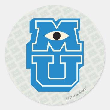MU Logo Classic Round Sticker