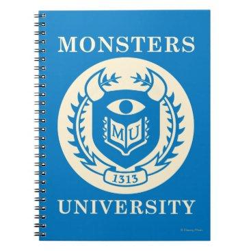 MU Seal - Dark Notebook