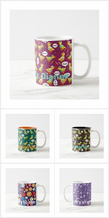 Mugs by Ms. Contrary