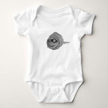 Mummy Hamster Baby Bodysuit