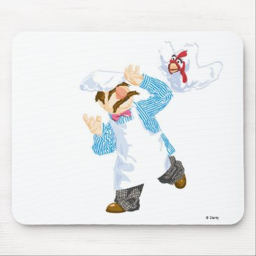 Muppets' Swedish Chef Chicken Mouse Pad