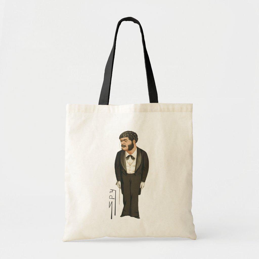 Music Composer Spy Print Tote Bag