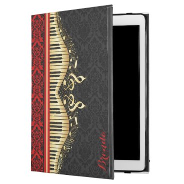 """Musical Notes And Keys iPad Pro 12.9"""" Case"""