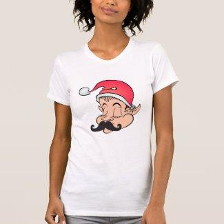 Mustache Elf Shirt