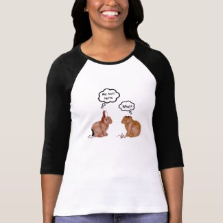 My Butt Hurts Bunnies Women's White T-Shirt shirt