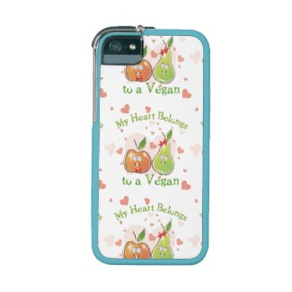 My Heart Belongs to a Vegan iPhone 5/5S Cases