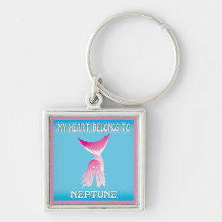 My Heart Belongs To Neptune Key Chains