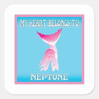 My Heart Belongs To Neptune Sticker